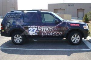 Car Wraps Suv Weather Van Tv Station Ford Exlorer