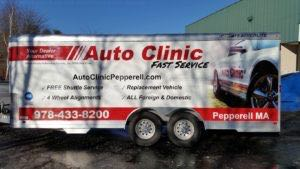 Cargo Trailer Graphics Wrap AUC