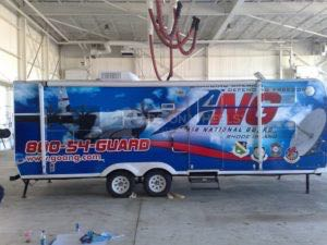 Cargo Trailer Graphics Wrap Ang