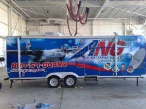 Cargo Trailer Graphics Wrap Ang
