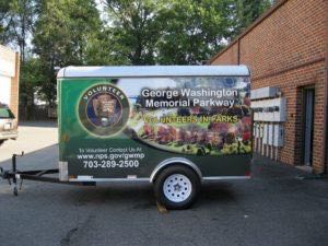 Cargo Trailer Graphics Wrap Enclosed Parks