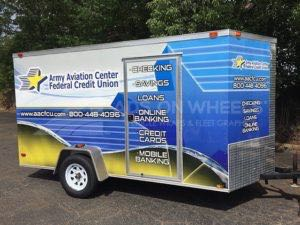 Cargo Trailer Wrap Graphics AFCU