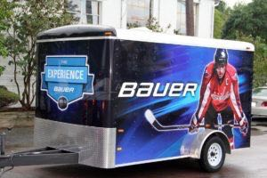 Cargo Trailer Wrap Graphics BAUER