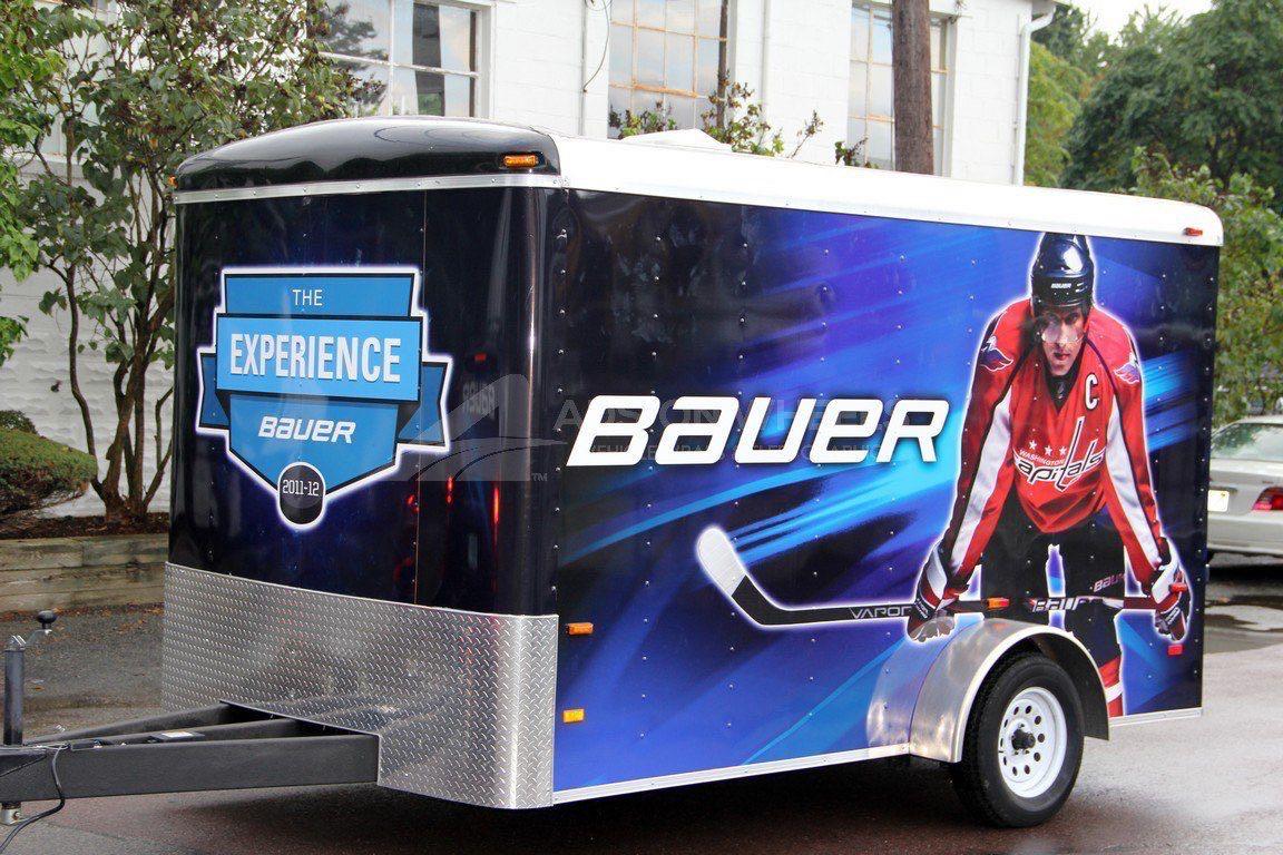 Cargo Trailer Wrap Graphics Bauer