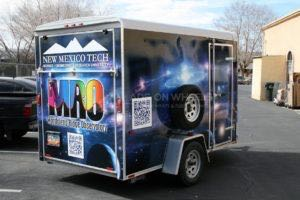 Cargo Trailer Wrap Graphics NMT