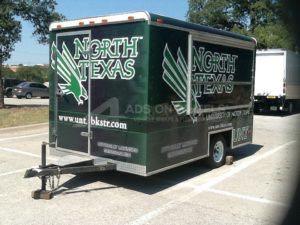 Cargo Trailer Wrap Graphics Band Enclosed Texas