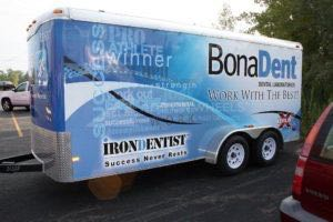 Cargo Trailer Wrap Graphics Bonadent