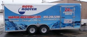 Cargo Trailer Wrap Graphics Enclosed Roto