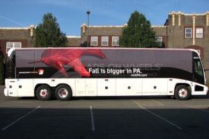 Coach Bus Wrap Graphics PA