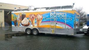Concession Trailer Food Wrap Graphics Catering RCE