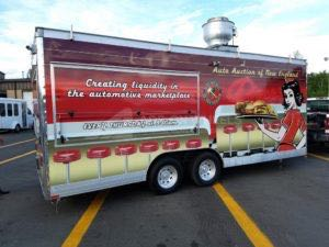 Concession Trailer Wrap Food Trailer Graphics Aane