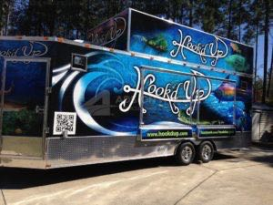 Concession Trailer Wrap Graphics Cargo Hookd