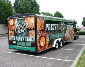 Concession Trailer Wrap Graphics Food Pretzel