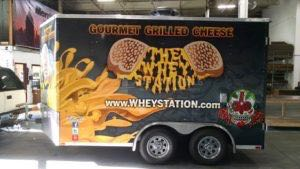 Concession Trailer Wrap Graphics Whey