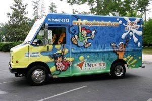 Food Truck Wrap Graphics LPC