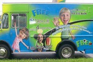 Food Truck Wrap Graphics NLC