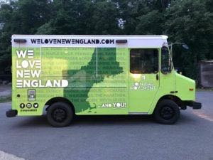 Food Truck Wrap Graphics WLNE
