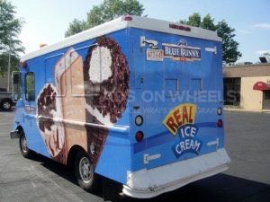 Food Truck Wrap Graphics Bluebell