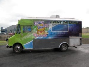 Food Truck Wrap Graphics Crazy Daves