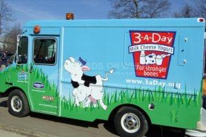 Food Truck Wrap Graphics Dairy