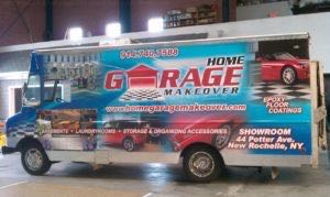 Food Truck Wrap Graphics Grumman HGM