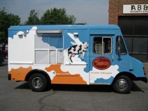 Food Truck Wrap Graphics Simplicity