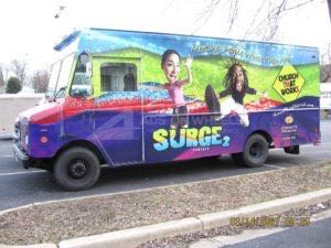 Food Truck Wrap Graphics Surge