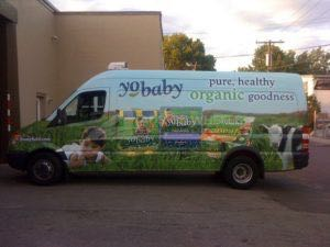 Food Truck Wrap Graphics Van Yobaby