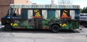 Food Truck Wrap Mac Shack