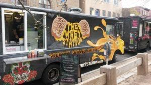 Food Truck Wrap Whey Station Graphics