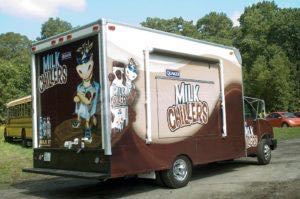 Food Truck Wraps Milk Moo