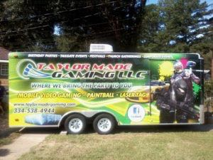 Gaming Trailer Wrap Graphics Gamer Taylor
