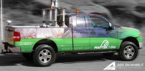 Pickup Truck Wrap Graphics Maptek
