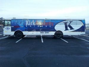 School Bus Wrap Graphics Partial TADR