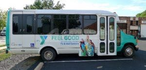 Shuttle Bus Graphics Wrap YMCA