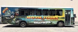 Shuttle Bus Wrap Graphics MMT
