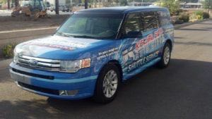 Suv Wrap Graphics Dealership KAG