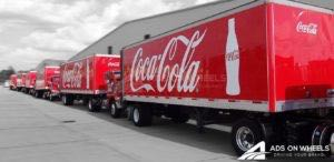 Tractor Trailer Graphics Wrap Semi Coke