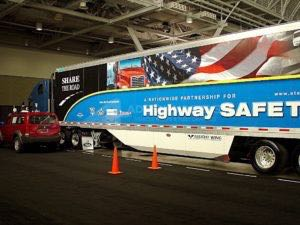 Tractor Trailer Wraps Semi Graphics HWY Safety