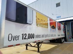 Tractor Trailer Wraps Semi Graphics NH Liquor