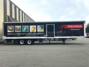 Tractor Trailer Wraps Semi Graphics PROMA