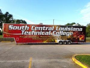 Tractor Trailer Wraps Semi Graphics  SCLTC College University