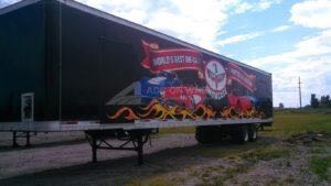 Tractor Trailer Wraps Semi Graphics Corvette