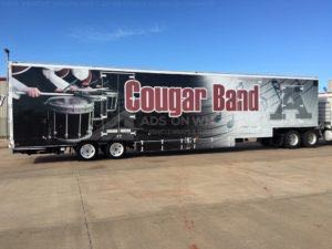 Tractor Trailer Wraps Semi Graphics Cougar Band