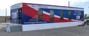 Tractor Trailer Wraps Semi Graphics Fema Pharmacy