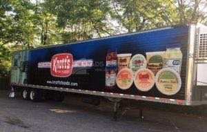 Tractor Trailer Wraps Semi Graphics Knotts Knf