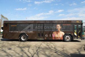 Transit Bus Graphics Wrap Advertising IMA