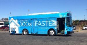 Transit Bus Graphics Wrap Advertising Cspire