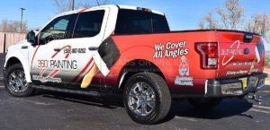 Truck Wrap Pickup Truck Graphics 360 Painting
