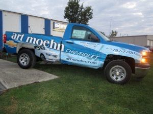 Truck Wrap Pickup Truck Graphics AMN Chevy